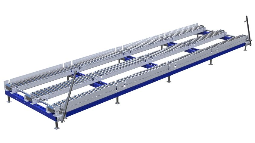 Q-100-2743 Conveyor Station - 1260 x 4760 mm