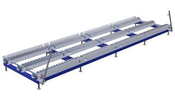 Q-100-2743 Conveyor Station - 1260 x 4760 mm