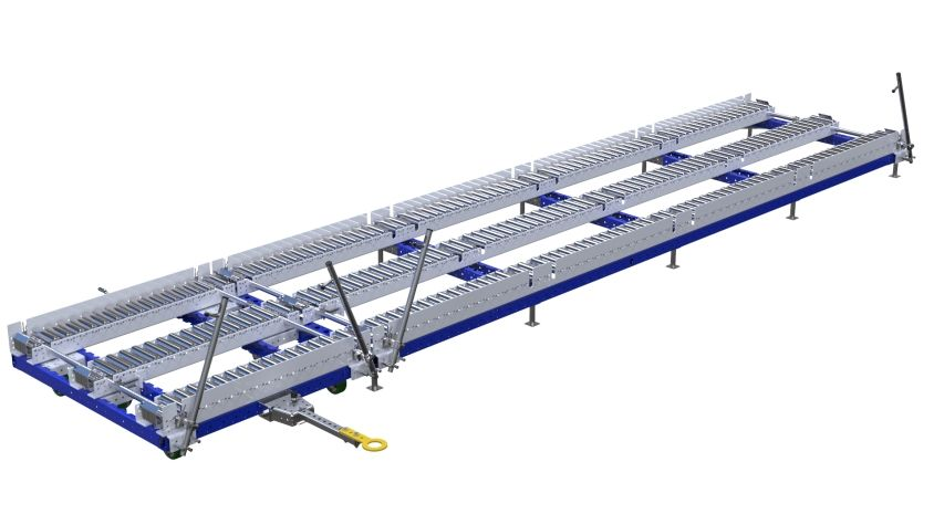 Conveyor Station - 1260 x 4760 mm