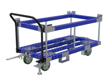 Pallet cart with sub-frame - 1540 x 840 mm