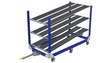 Q-100-2666 Tugger Flow Rack - 980 x 2030 mm
