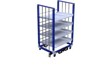 Q-100-2352 Flow Shelf Cart - 1050 x 1400 mm