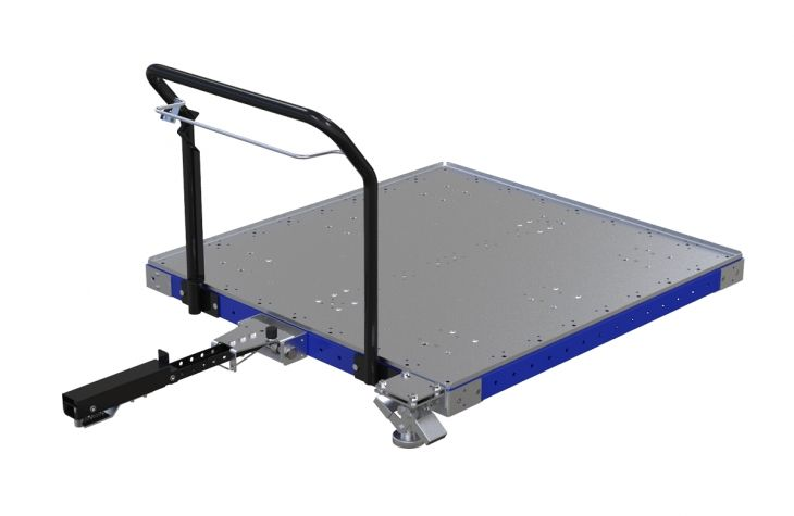Tugger Cart - 1260 x 1190 mm - Wire Release Version