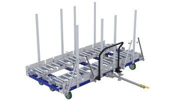 Q-100-2634 Roller Cart - 1260 x 2590 mm