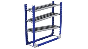 Q-100-2609 Flow Rack - 420 x 1400 mm