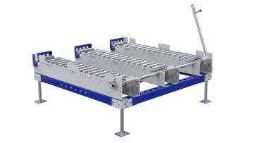 Q-100-2581 Roller Rack - 1260 x 1260 mm