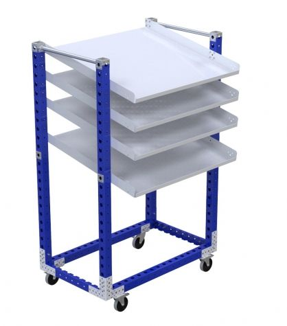 Flow Shelf Cart - 1260 x 770 mm
