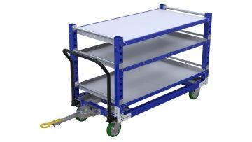 Q-100-2327 Shelf Tugger Cart - 840 x 1680 mm