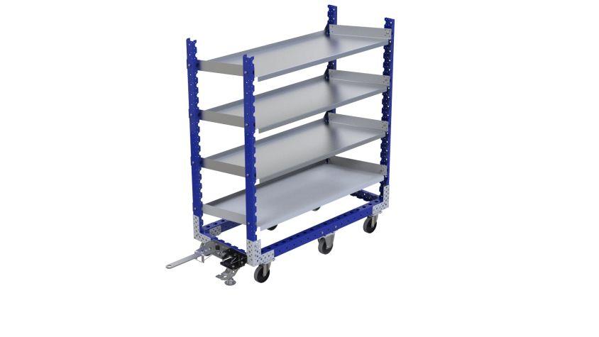 Flow Shelf Cart - 630 x 1400 mm