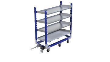 Q-100-2300 Flow Shelf Cart - 630 x 1400 mm