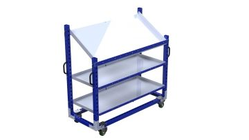 Q-100-2129 Shelf Cart - 770 x 1890 mm