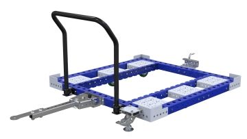 Q-100-2180 Tugger Cart Low - 1260 x 1260 mm