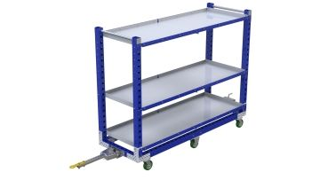 Q-100-2402 Flat ShTugger Cart - 700 x 2030 mm