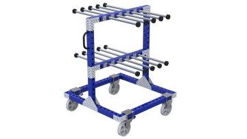 Q-100-2415 Hanging Cart - 1120 x 1120 mm