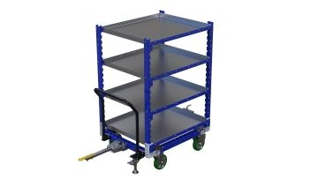 Standard Flat Shelf Cart