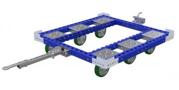 Tugger Cart - 47 x 50 inch without steel deck