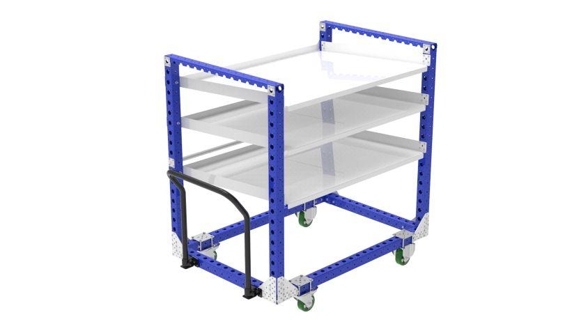 Flow Shelf Cart - 1050 x 1540 mm