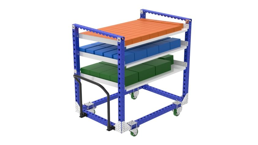 Flow Shelf Cart - 1050 x 1540 mm