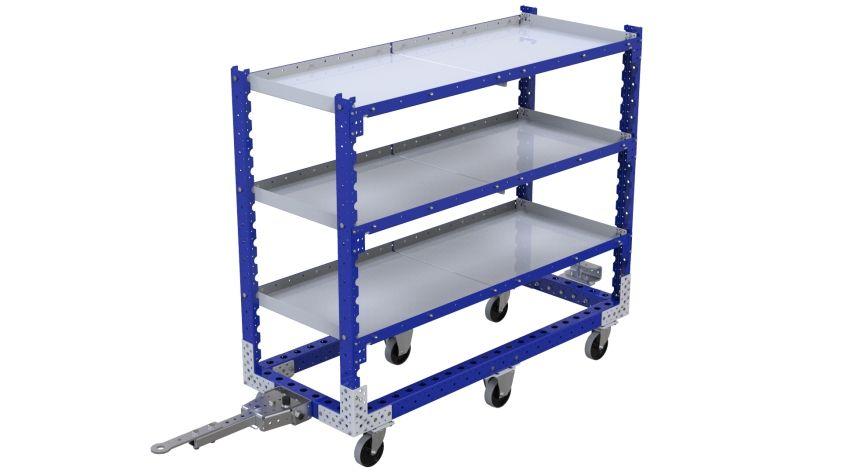 Flat Shelf Cart - 630 x 1610 mm