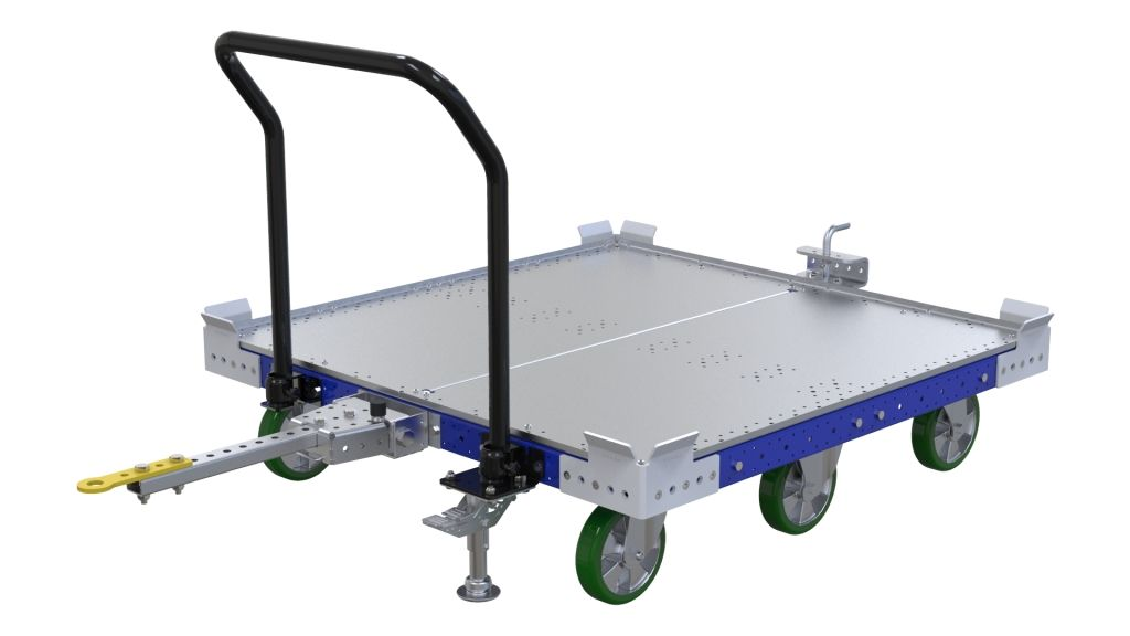 q-100-0112 Tugger Train Cart FlexQube
