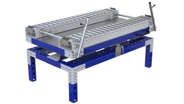 Rotating Roller Rack - 840 x 1470 mm