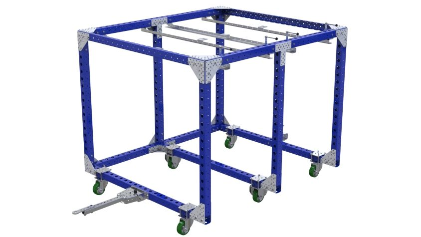 2 in 1 - Mother Cart - 1680 x 1890 mm