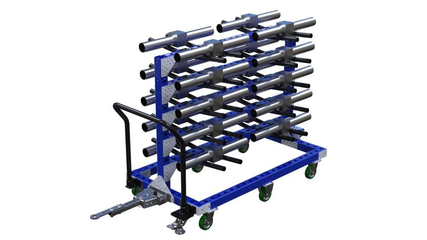 Cart for Valves - 840 x 1540 mm