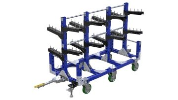 Heavy-duty hanging cart designed by FlexQube