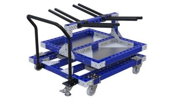 Rotating Cart w. Hangers - 1120 x 1190 mm