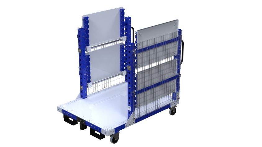 Cart for Cardboards - 1050 x 1400 mm