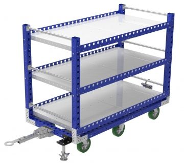 Flat Shelf Cart - 910 x 1820 mm