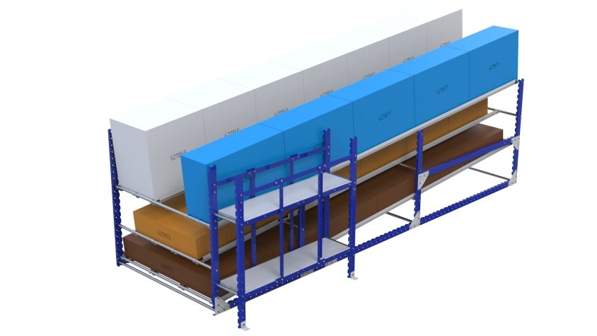 Flow Rack - 1890 x 4900 mm