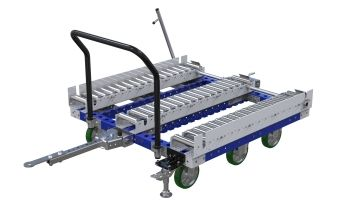 Roller transfer cart designed by FlexQube