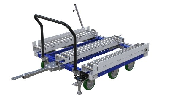 Roller transfer cart designed by FlexQube
