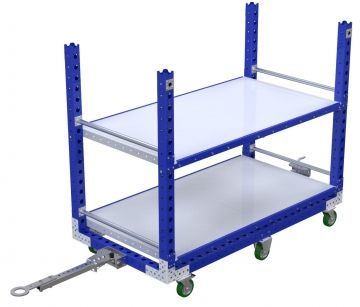 Flat Shelf Cart - 1750 x 910 mm
