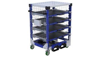 Extendable Shelf Cart - 700 x 910 mm