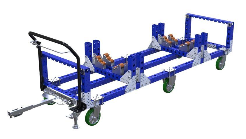Tugger Kit Tugger Cart - 840 x 2870 mm