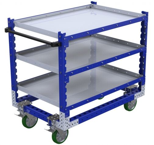 Flat Shelf Cart -1260 x 840 mm
