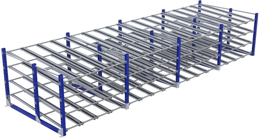 Flow Rack - 2170 x 7350 mm