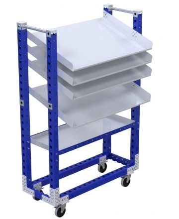 Flow Shelf Cart - 490 x 1260 mm