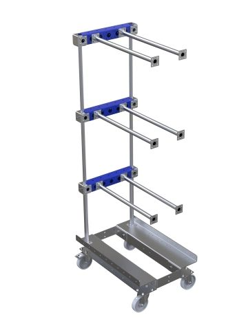 Cart for hanging component