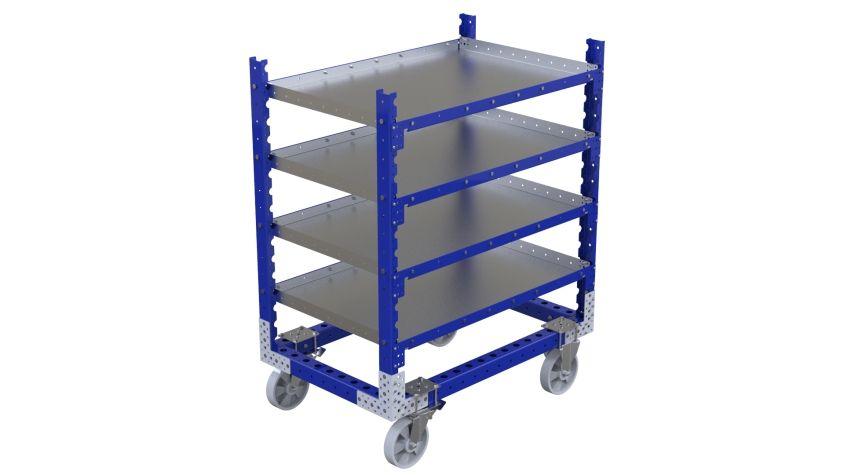 Flat Shelf Cart - 1190 x 770 mm
