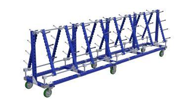 Hose cart - 4830 x 770 mm