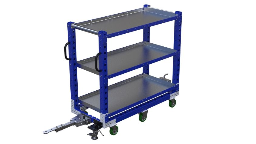 Flat Shelf Cart - 630 x 1400 mm