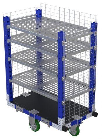 Flex Shelf Cart -1190 x 700 mm-v2