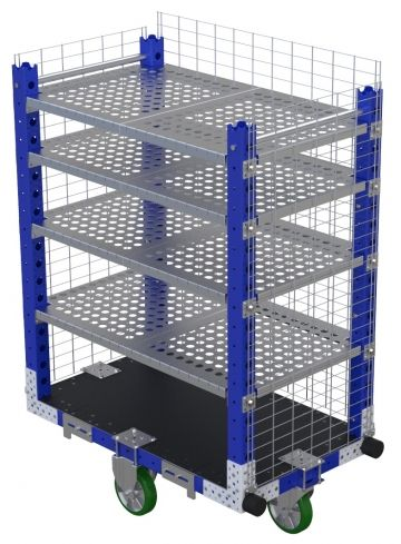 Flex Shelf Cart -1190 x 700 mm-v2