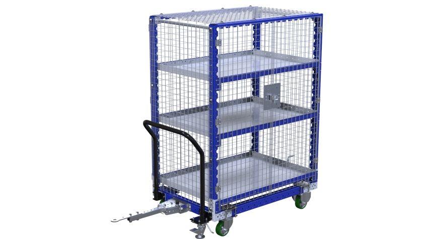 Shelf Cart for Scrap - 840 x 1260 mm