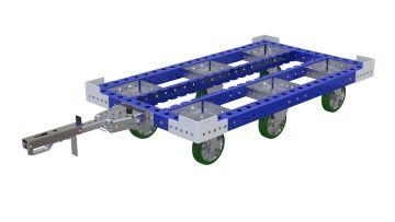 Pallet Tugger Cart - 840 x 1470 mm