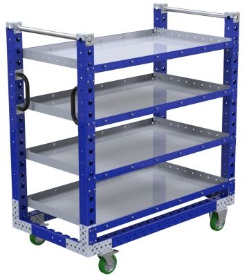 Flat Shelf Cart - 700 x 1330 mm
