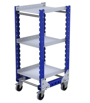 Flat Shelf Cart - 560 x 630 mm
